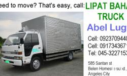 Lipat Bahay Truck Elf Alum. Close Vans Canter Refrigerated Van Ideal for: *House Moving *Office Relocation *Cargo Handling *frozen, perishable and non perishable goods. 24/7 from pampanga to any point of the country. Cell: 09237094405 Cell: 09173436718