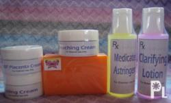 Be flawless and prettier in an inexpensive way!!  Why spend so much going to a derm clinic,availing of their expensive branded products if you can have them at a much cheaper price?  LOCAL OBAGI SET @ P400 only! Set includes: Kojic Acid Soap 90g (srp