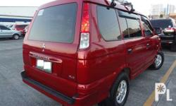 Mitsubishi Adventure MT Diesel Make:Mitsubishi Model:Adventure MT Year:2011 Color:Red Engine Type:Diesel Transmission:Manual