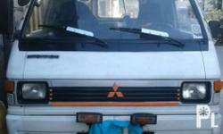 Mitsubishi L300 fb Power steering Registered Running condition No overheat No blowby Good underchassis No bulok No kalampag All light n gauge working Complete legal papers No lto alarm Nego Issue: nagpaparepaint D n maganda pintura Location : san nicolas