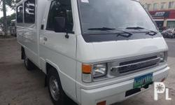 2013 Mits L300 FB van4d56 diesel  2.5good paint engine Dual cool aircon No accident history registered Complete papers