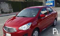 MITSUBISHI MIRAGE G4 2015 Manual Diesel Color Family Red Doors 4 Drive Type Front wheel drive Edition GLX Driver airbag Air conditioning iPod/MP3 compatible CD audio system Power windows