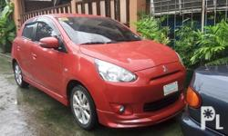 Mitsubishi Mirage Hatchback GLS 2016 (2015 series) Make:Mitsubishi Model:MIRAGE Year:2016 Price:160000 PHP Mitsubishi Mirage Hatchback GLS 2016 (2015 series) Top Of The Line RUSH... RUSH.... NEGOTIABLE... NO ISSUE21K MileageComplete PapersFully Paid