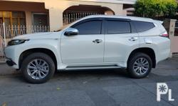 Mitsubishi Montero 2017 GLX -Mitsubishi Montero 2017 glx m/t,diesel -white 2tkm only good as bnew very fresh -newly Service PMS at mitsubishi taytay -flood and accident free, nothing to fix