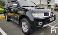 Mitsubishi Montero Sport 2010 GLS Automatic Transmission: Automatic Engine Condition: 10/10 Exterior Condition: 10/10 Interior Condition: 10/10 Tires: 90% Fuel: Diesel 100% Flood free 100% Accident free -All Original -Complete papers -Smooth acceleration