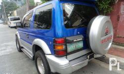 1993 Mitsubishi Pajero Subic 2Door Automatic Transmission (Smooth Shifting) Diesel Strong & Cold A/C All Power Ending Plate 7 (Thursday Coding) Registered 2016 Ready To Use Price : P198,000 Complete Documents