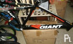 FOR SALE BRANDNEW FRAME GIANT XTC 2012 NEW MODEL READY FOR DISCBRAKE ONLY 15,000 PESO IF INTERESTED JUST TXT THIS NUMBER 09156438043