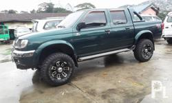 1999 model nissan Frontier 4x4 Manual Qd32 3.2 Diesel Matipid sa Diesel Ice Cold Aircon Walang Blowby,Talsik,Tagas Registered Piooner headunit(dvd/cd/usb/aux) Clean Interior,Leather Seat covers All gauges and Lights Working..