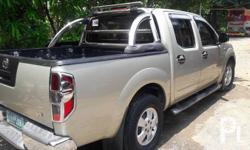 Nissan navara l.e 4x2 manual 2009 model 100% Flood free 100% Accident free -All Original -Complete papers -Smooth acceleration -Perfect shifting -Solid suspension -Cold aircon -Keyless Extras: -Newly changed synthetic oil