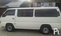 For sale Nissan urvan shuttle 2003 Cold aircon Clean papers Rfs: need cash Interested buyer just contact 09161351233