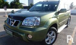 2007 Nissan Xtrail 200x LIMITED A/T 4x4 2.0L EFI Engine Fuel efficient All power Dual SRS Airbag Auto retractable side mirrors  1st Owned Immaculate Condition  Superfresh Original paint  SuperLoaded  AVT Roofmount LCD TV Monitor Local channels
