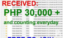 TITLE: GET PAID TO COMPLETE SURVEYS PHILIPPINES 2018 - FREE TO JOIN. No Fee Required, Just Register then Start Working. - Legitimate, Active and Paying Since 2004 up to Present. - Work at home, Part-time Job! You can Work Anytime you Want at Home. - Total