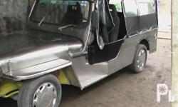 Deskripsiyon Gawin: Toyota Modelo: Van Mileage: 180,000 kilometro Taon: 2002 Kondisyon: Gamit na OWNER TYPE JEEP 4K ENGINE PURE STAINLESS, VERY GOOD RUNING CONDITION PO NICE ENGINE ALA KALAMPAG, NEW TIRE 4PCS, OK TRAPAL, BODY, PANGILALIM, WITH STAINLESS