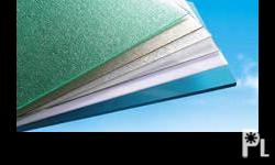 ACEWELL POLYCARBONATE TWIN WALL SHEETS · Excellent light transmission: 6mm thick twin wall sheets can transmit up to 80 % of natural light reducing the use of electricity- based lighting · Weather resistant: The outer surface has chemical bond to absorb