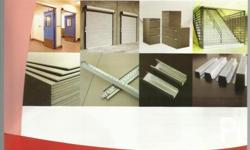 We render: repair, supply and installation of roll up doors (Manual and Motorized RUD), Garage doors; we sell Metal flush doors, Molded doors, and PVC Doors); we sell roll up door accessories & other industrial products.
