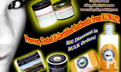 All our products are PROVEN, TESTED & GUARANTEED AUTHENTIC from Kuwait. We are direct form the Manufacturer. We can bargain a price depends on the quantity of your order/s. You may ask us anything about our products and we'll glad to answer all of it to