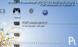 PERMANENT HACK ANY FIRMWARE, ANY PSP! NO NEED FOR CHICKHEN, PATAPON DEMO, MINNA NO SUKIRI DEMO, HBL!! I am modifying high firmware PSP 2000, PSP 3000 and PSP GO's at a low price! (IN SHORT, ANY VERSION!) MAKE YOUR PSP DOWNLOADABLE (DOWNLOAD ISO/CSO