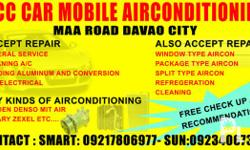 To all valued customers, We offer the following services: FOR CAR MAINTENANCE 1. car aircon general services 2. aircon cleaning 3. welding aluminum tube and conversion (car and house air conditioning) 4. car electrical troubleshooting 5. vacuum recharging