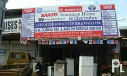 Authorized Service Center for GE Appliances, DAEWOO, American Homes, Sanyo and more. SERVICES OFFERED DESIGN ESTIMATE FABRICATION INSTALLATION DUCTING REPAINTING BODY REPAIR OVERHAULING ELECTRICAL RE-CONDITIONING CLEANING WE ACCEPT REPAIR AIRCON SPLIT