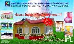 Rio Del Grande Subdivision, Located at Maddarulug Sur, Enrile, Cagayan Total Lot Area: 100 sq.m Floor Area: 30 sq.m 1 Bedroom, 1 Toilet and Bath 15 Minutes drive from Tuguegarao City proper just after the Canyon Hills Resort Flood-Free Quiet and Peaceful