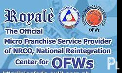 Deskripsiyon Royale Business Club - The Official Micro-Franchise Service Provider of the National Reintegration Center for OFWs (NRCO) is now in Baguio. Featured in Jan-Feb 2009 issue of Entrepreneur Magazine as the hottest food-cart franchise provider.