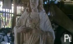 I am a sculptor. I accept made to order statue works made of wood or cement. I also repair and repaint broken images. My contact number is 639159899056. Hoping to serve you well.