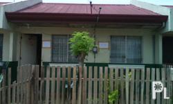 Square Meters: 50 Furnished: Oo Rush assume house and lot located at bloomingdale subdivision lot area :  50sq.m floor area : 34sq.m 2 bedrooms 1 toilet and bath tiled already with built in cabinet at the kitchen continue monthly at pag-ibig for 24yrs at
