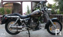 Skystar 150cc Bigbike Motorcycle Cruiser Harley Type, Easy Rider Complete Clean Papers Computerized With Oil Cooler and Dual Strobe light Thick Tires good hugging grip All lights electricals working Stock Engine, No leaks Newly Change oil. New Battery