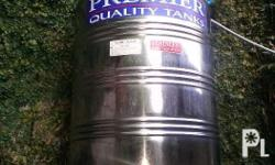 Seller NOT always online. text pls. 0956 276 3525 / 0956 276 3525 / 0956 276 3525 send texts in English pls For Sale STAINLESS Water Tank Slightly Used Size: 500L As-is, Where-is For Pick-up only (camp7, BAGUIO)