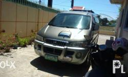 12 to 15 sitters Cool AC Starex jumbo 2004 model Manual Still negotiable for sure buyer only Call or text me for mor info.... #09272181509 alma