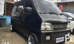 Suzuki Every Wagon Van Japan Surplus - Latest Model EFI Philippine-first-owned Van Automatic transmission All Power With Spoiler With Skirt Tinted Mags Air condition Newly assemble New Paint - urethane New Registration Brand New Upholstery, matting and