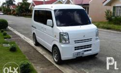 Suzuki Every Van Transformer 4x4 made 2014 in good condition airconditioned 4x4 push button automatic transmission engine: 12 valve K6A latest model/timing chain, running very well complete OR/CR clean papers, comprehensive insurance new anzhal paint with