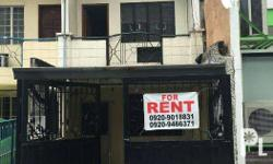 Townhouse For Rent, walking distance to Edsa, Timog, Kamuning Road. 187 Scout Fuentebella Ext. Corner Scout Rallos, Brgy Sacred Heart, Diliman Quezon City 3 bedroom 2 T&B 1 car garage balcony laundry area kitchen living room secure and flood free price is