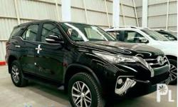 Toyota ALL NEW FORTUNER 2016 Year 2,400.0L Engine Diesel Fuel Automatic transmission 4x2