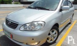 Toyota Corolla Altis1.8G VVTI ENGINE 2006 model Automatic All originals POWEr Top of the line