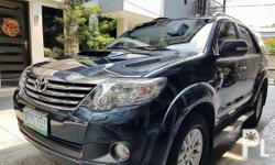 Details Color Family Black Doors 5 Drive Type 4x4 Edition V Toyota Fortuner 2013 Automatic V Used for sale. The Toyota Fortuner runs on Diesel and has a promo price of PHP 200000. You will be hard pressed to find better value for your money elsewhere.