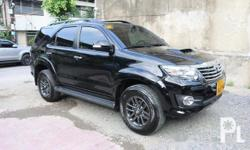 Toyota Fortuner 2014 Brand:Toyota  Model:Fortuner  Year of manufacture:2014  Condition:Used  Transmission:Automatic Color:Black