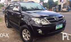 Diesel Automatic Transmission 2007 model Leather seats Cold aircon New tires Registered Location: Naga City