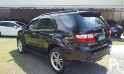 Toyota fortuner G D4D automatic turbo diesel 2010 model 1st owned all original paint *20 inches chrome mags with brandnew tires *tv/dvd head unit with back up camera plus lots of accessories Rare unit and rare unit condition close to brandnew one dare to