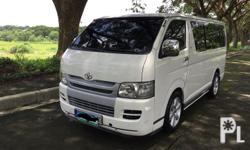 Toyota Hiace commuter 2010 manual tranny Low mileage Fresh engine  smooth shifting 2016 Oem toyota headunit back Up Blower / aircon  fresh dashboard sidings steering wheel Orig Gl tail lights Orig toyota hiace emblem Fortuner Gen 2 mags Orig paint  Chrome