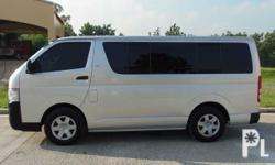 Toyota Hiace Commuter MT 1st Owned Very Fresh Well Maintained 2.5L D4D Diesel SRS Airbag Leather Interior Integrated Audio System CD MP3  Ready to Ride