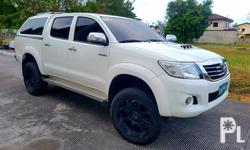 Toyota Hilux 2013 Brand:Toyota  Model:Hilux  Year:2013  Condition:Used  Transmission:Manual  Color:White