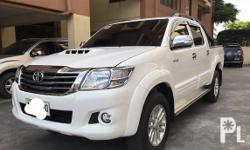 2015 Toyota Hilux G 4x2 Manual Transmission Diesel Engine All Original Roll bar A1/ Top condition Well Maintained Nothing to fix Well kept See to appreciate 100% guaranteed not flooded/ not collided Clean papers