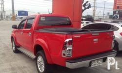 Toyota Hilux G 2013 Year 3.0L Engine Diesel Fuel Automatic transmission 4x4 Aircon Power steering Electric windows Immobilizer Central lock