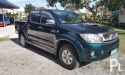 Toyota hilux G D4D 4x4 automatic transmission turbo diesel 2009 model 1st owned 2nd generation body. Best price for hilux 4x4 G automatic in town Best buy for your hard earned money Flood free money back guarantee Accident free money back guarantee