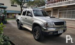 Toyota hilux SR 5 manual diesel 4x4 2002 model rare and limited unit 1st owned all original paint all stock and all original 49tkms with complete service record and warranty booklet casa maintained Flood free and accident free money back guarantee Best
