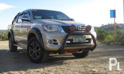 For Sale Toyota Hilux 1st Owner/ Owner Seller Acquired  With regular periodic maintenance Original TRD Mags MCC nudge bar and Overland Andez Rollbar 31k Mileage not tampered