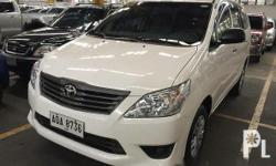 Toyota Innova 2015 2015 Toyota Innova J Diesel engine Manual transmission Nothing to fix In good condition Fresh in and out All power See to appreciate