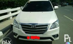 selling toyota innova G monthly amortization every 28th of d month 3years to go uber ready serious buyers only