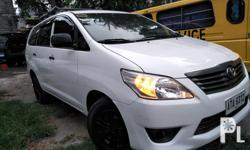 Toyota innova J 2015 manual Very presentable Diesel Orig private Flawless paint Fresh in and out Orig paint Ready to use long dirve Top carier Gagamitin nalang Thick tires Ice cold aircon Updated registerd